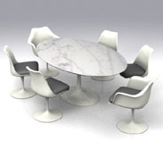 沙里宁洽谈台 Eero_saarinen_table2